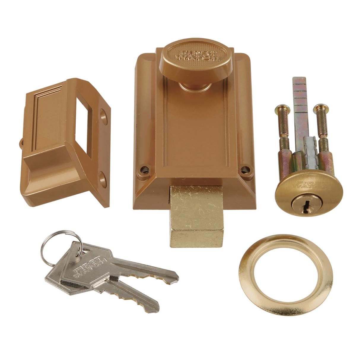 Night Bolt Amp Locking Cylinder First Watch Security