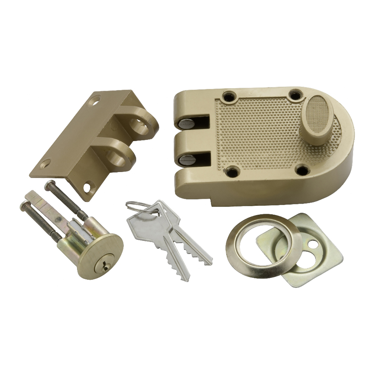 Single Cylinder Interlocking Deadbolt First Watch Security