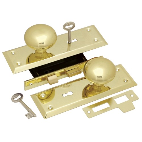 Keyed Knob Mortise Lockset First Watch Security