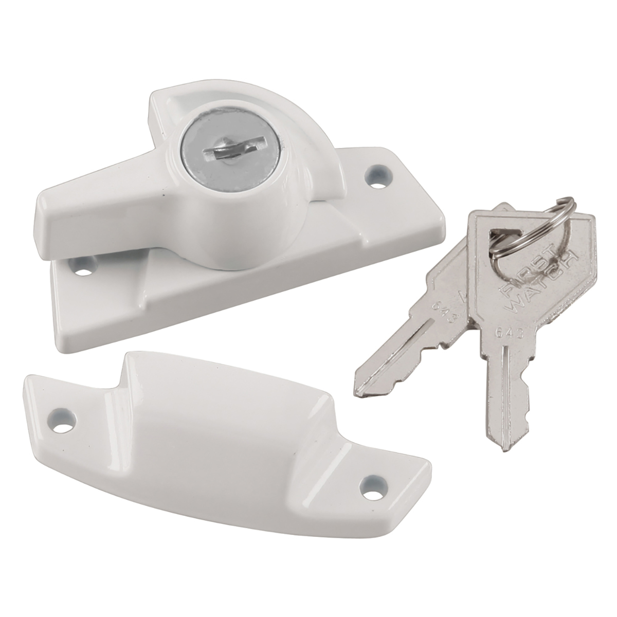 Keyed Sash Lock First Watch Security