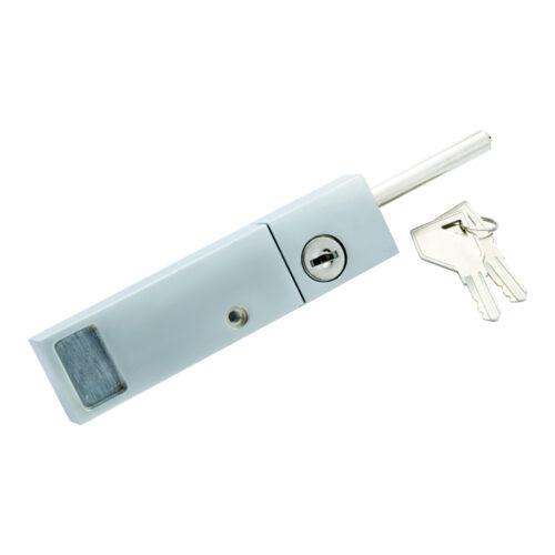 Patio Door Exterior Lock: Keyed Patio Door Lock W/ Rotating Bolt
