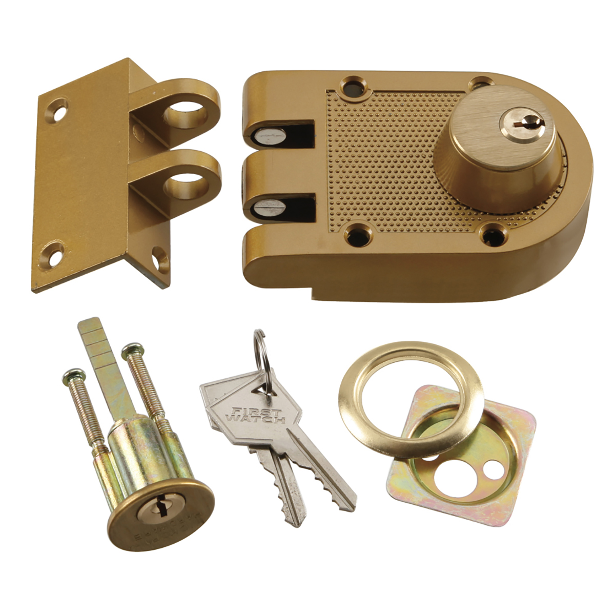 Double Cylinder Interlocking Deadbolt First Watch Security
