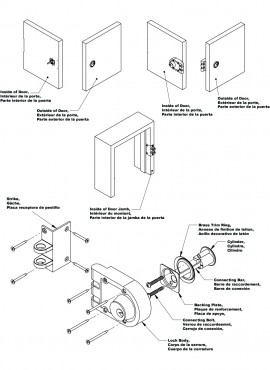 Bolts Latches Guards in addition Lcn 4040se Series 213 further Security likewise Standard Cabi  Door Sizes also Padde Es2000 12v Electric Strike. on door installation template